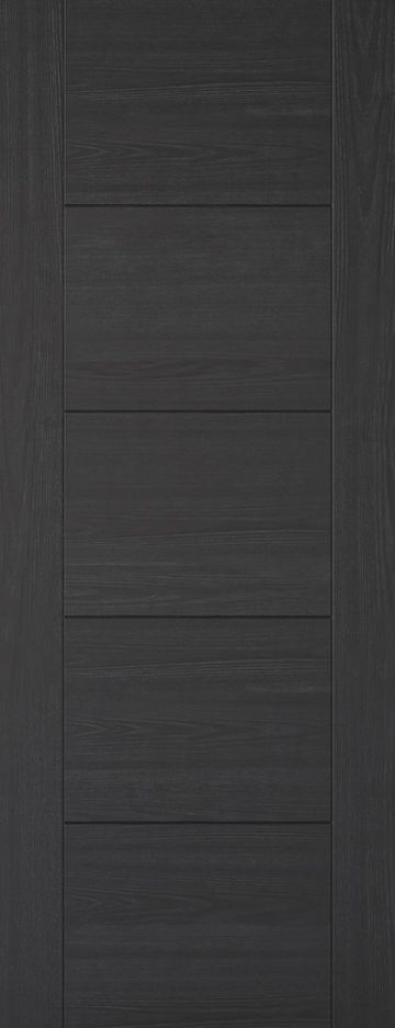 Charcoal Black Vancouver Fire Door (5P)
